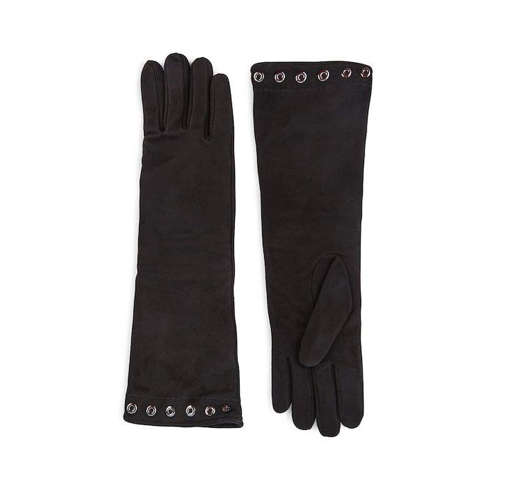 Кожаные перчатки с шерстяной подкладкой