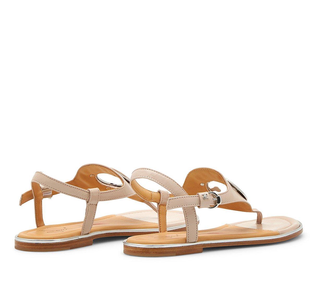 Sandalo Fabi Oblo in nappa