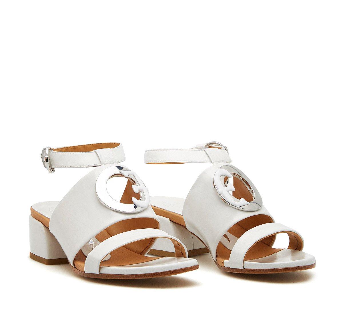 Sandalo Fabi Oblo in vernice