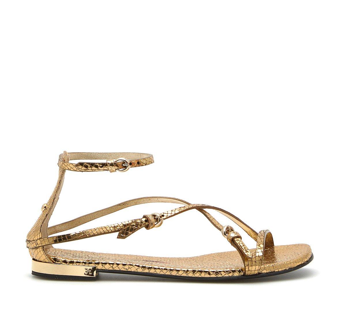 Sandalo Flat in laminato