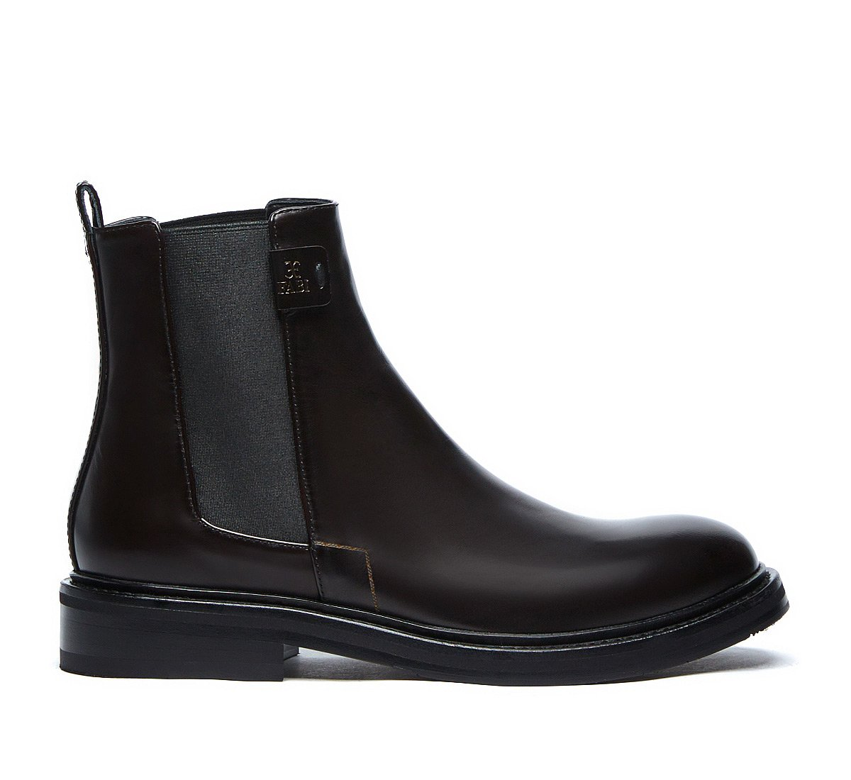 Beatle boot in soft calf leather