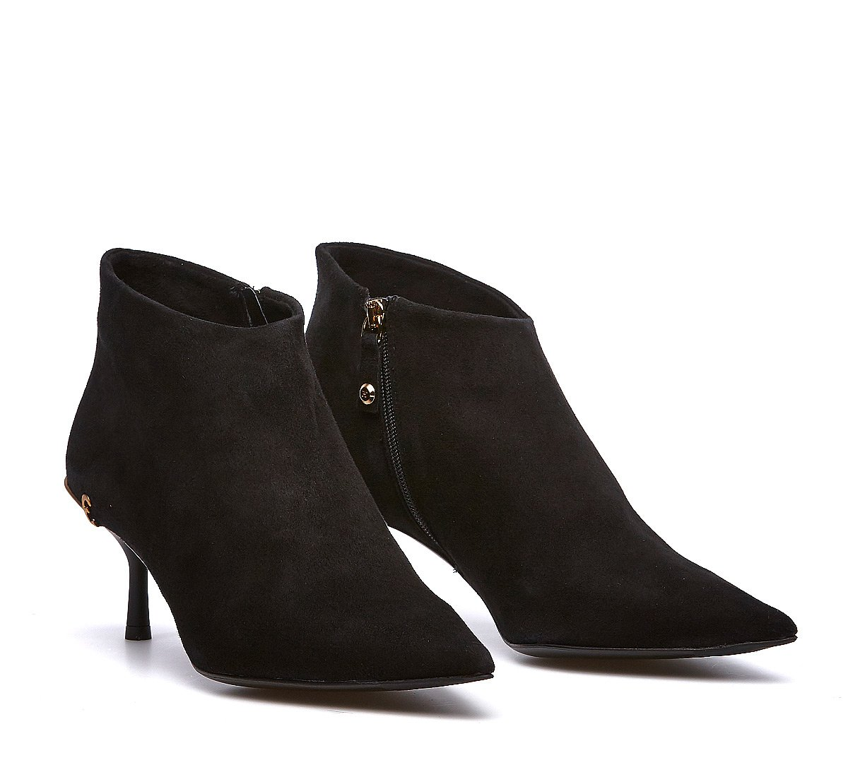 Soft calfskin ankle boot