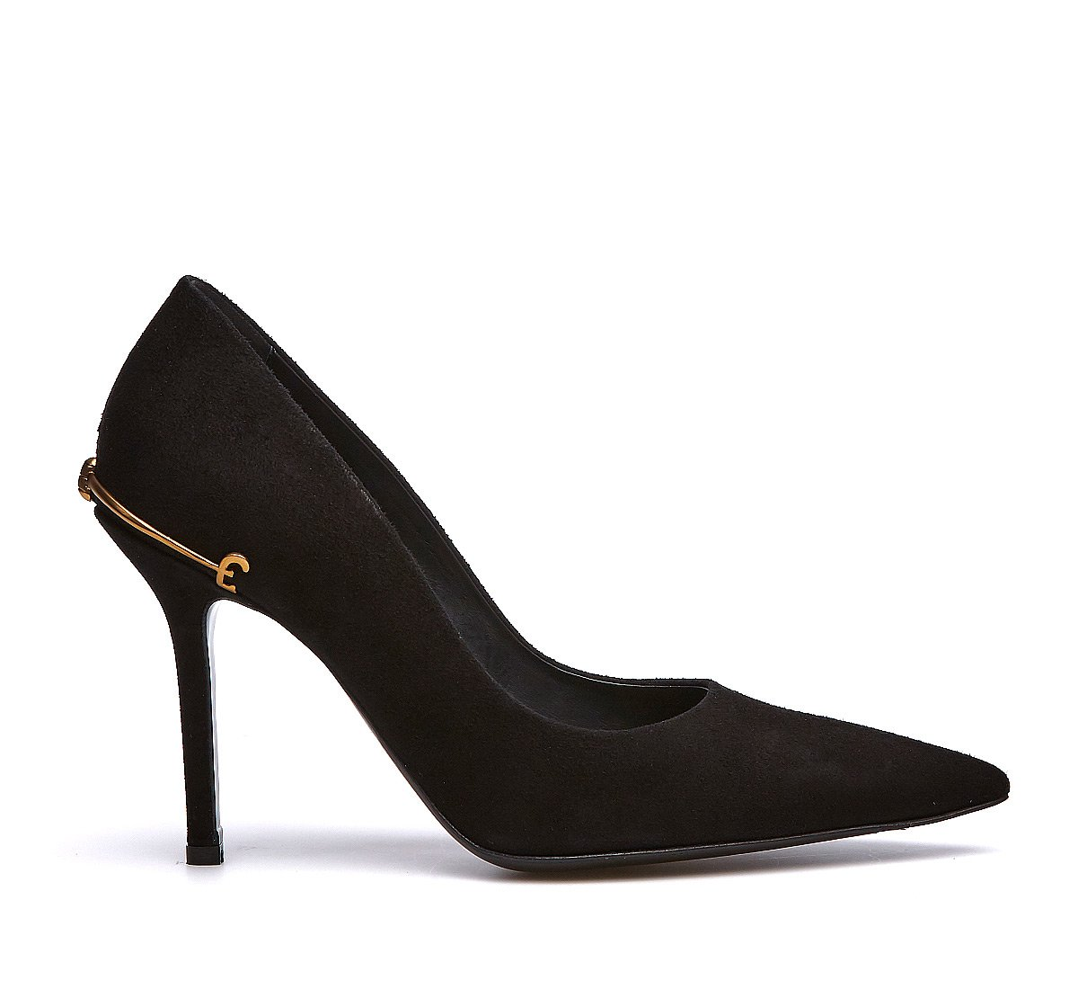 Court shoes in soft calfskin