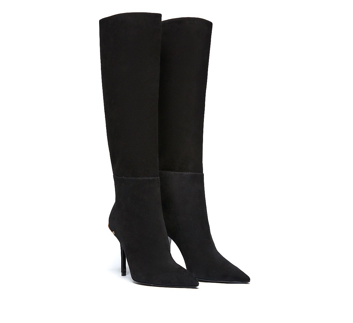 Boots in soft calf leather