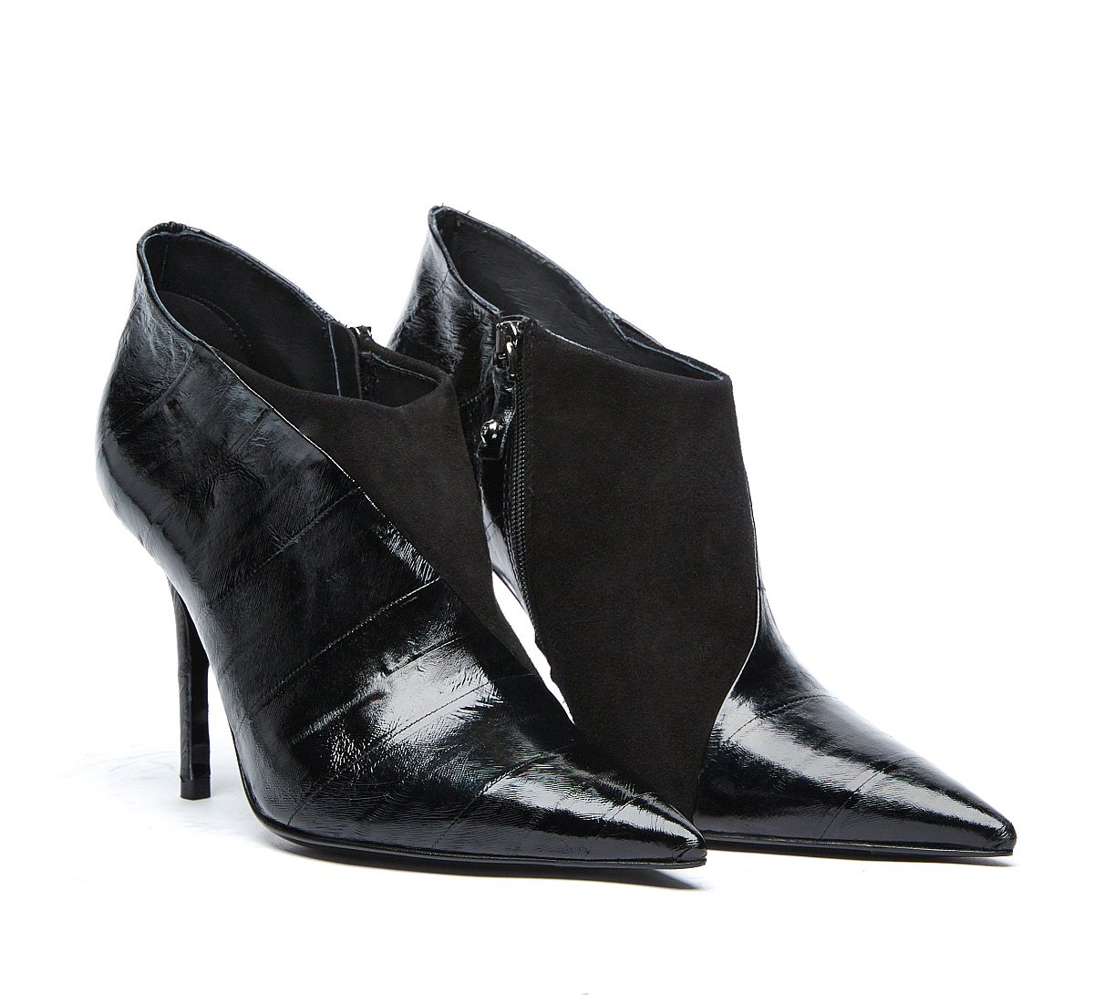 Ankle boots in soft calf leather