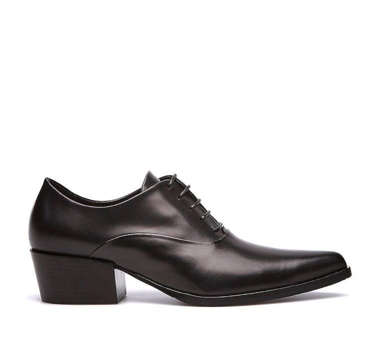 Ботинки из высококачественной телячьей кожи