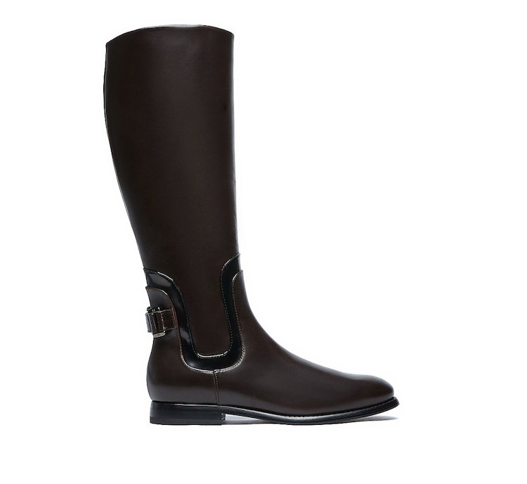 Boots in luxury calf leather