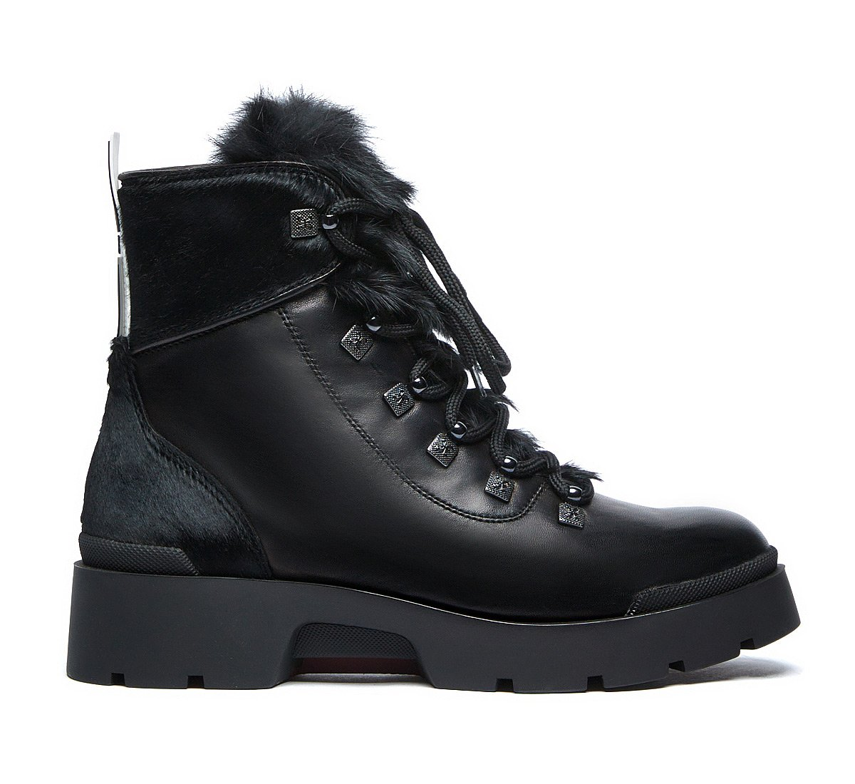 Fabi commando boots in luxury calf leather