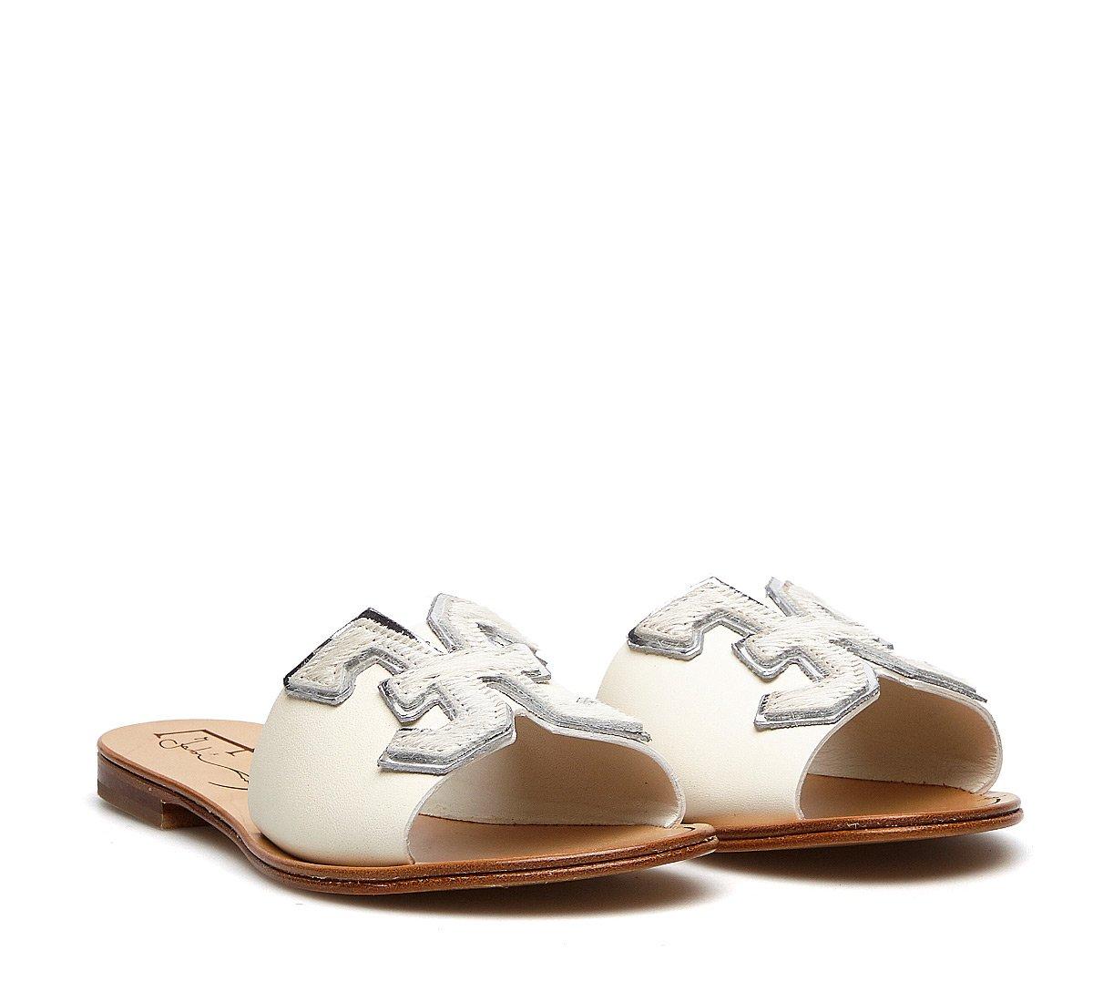 Soft calfskin slip-ons