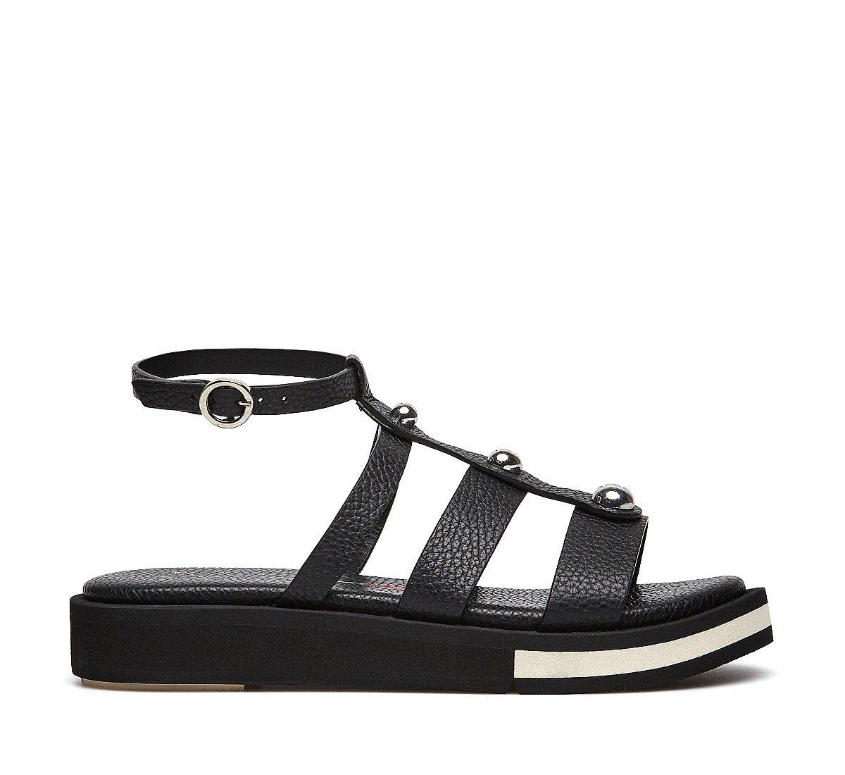 Soft calfskin sandals