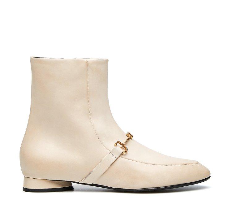 Ботинки-дезерты из мягкой телячьей кожи