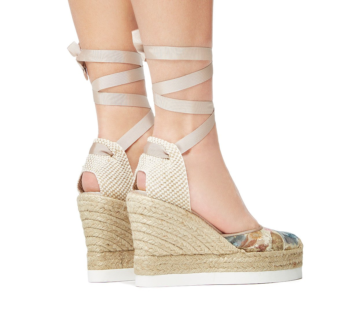 Sandalo in tela