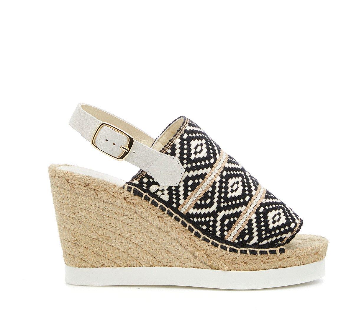 Textile sandals