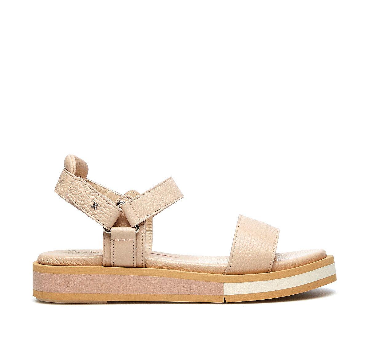 Calfskin sandals