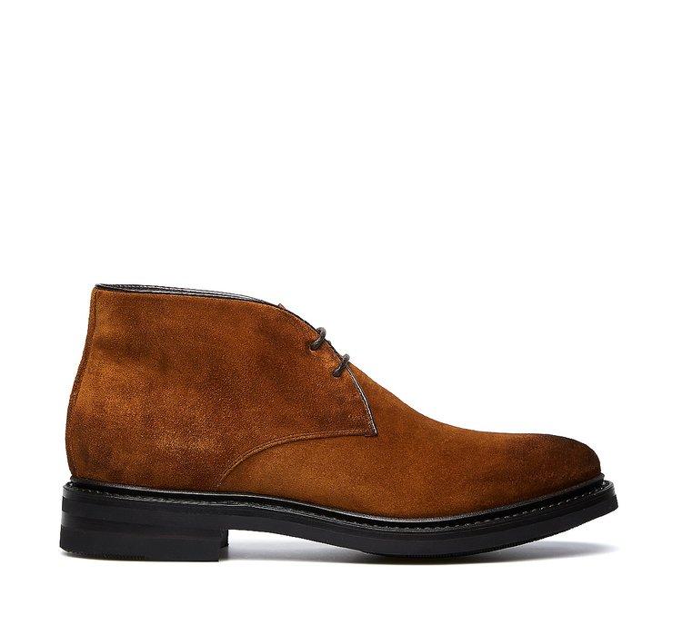 Ботинки-дезерты Fabi Flex Goodyear из замшевой телячьей кожи