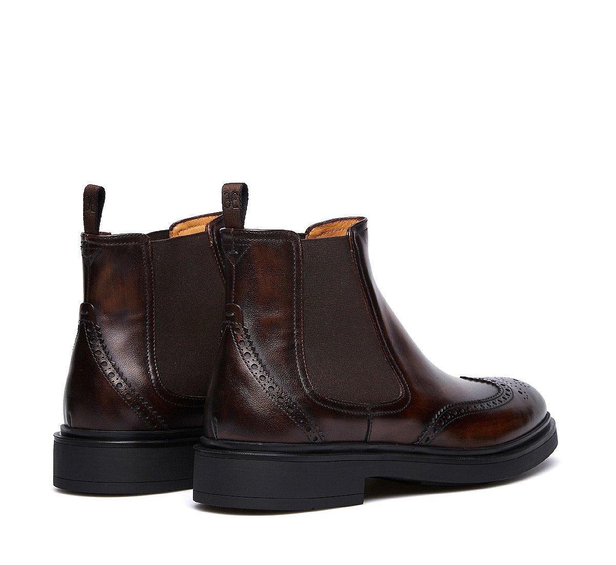 Soft calfskin Beatle boots
