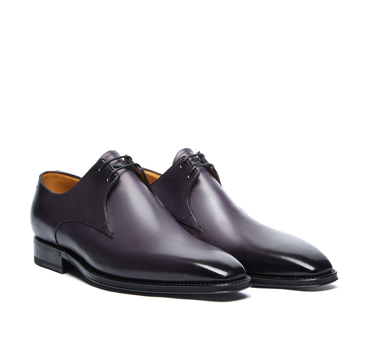 Flex Goodyear lace-ups in luxury hand-buffed calf leather
