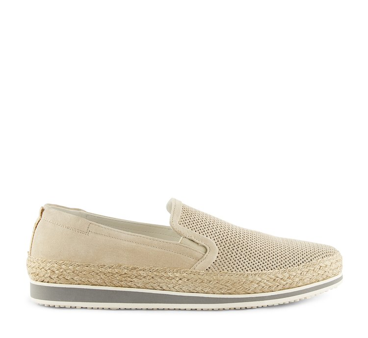 Slip on in morbido nabuk