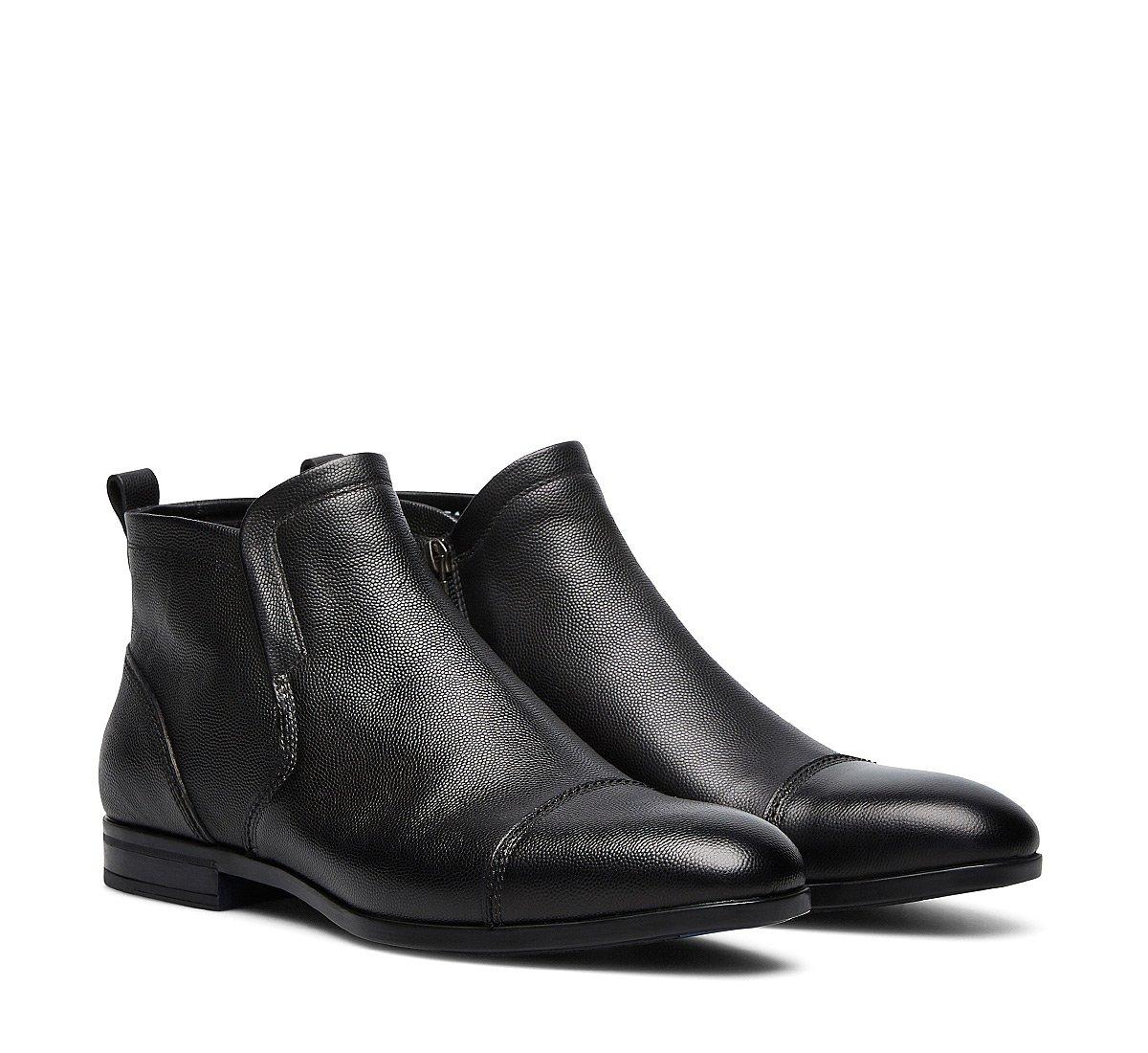 Ботинки-дезерты из замши