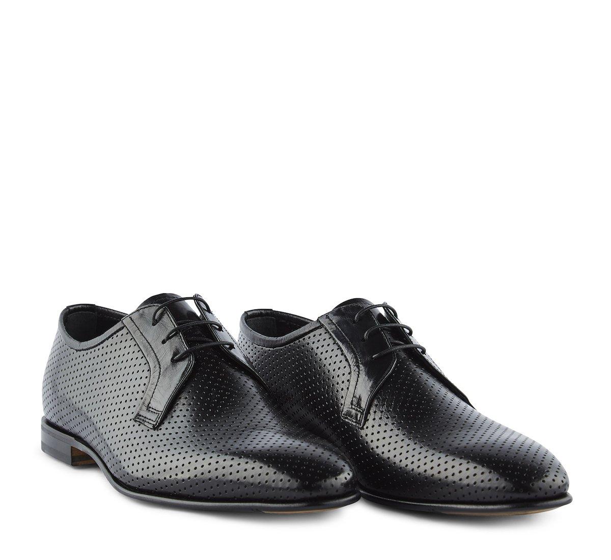 Туфли на шнуровке Fabi classic из телячьей кожи