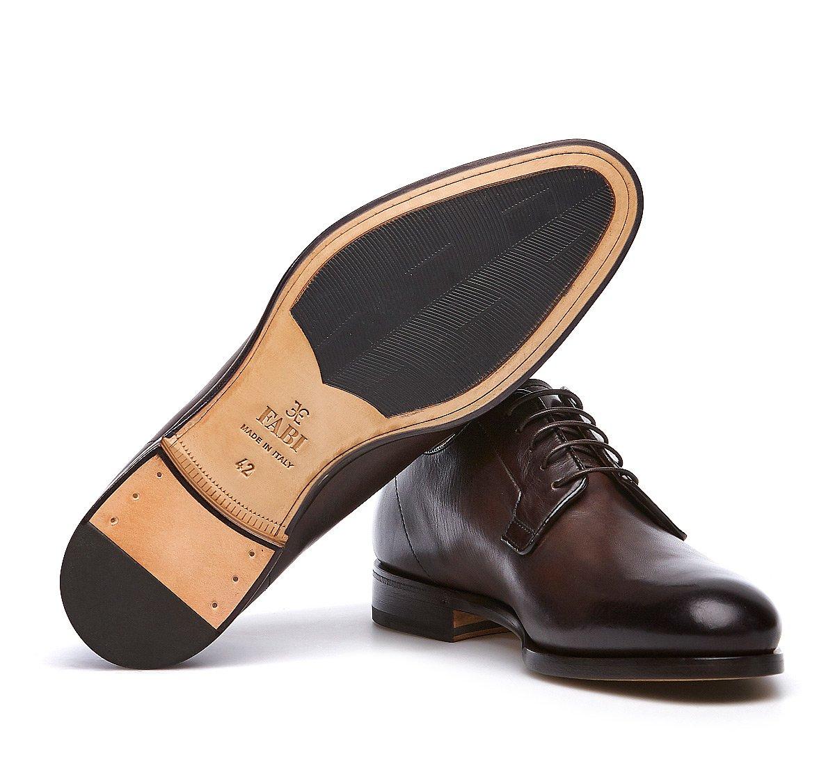 Ботинки дерби из телячьей кожи