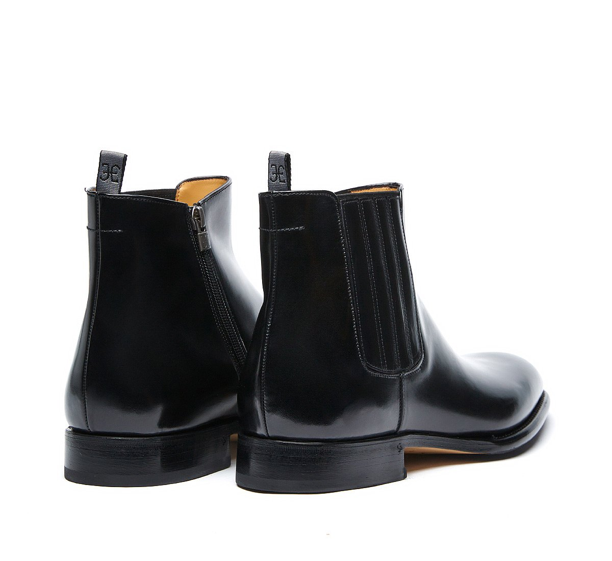 Fabi Flex Goodyear Beatle boots in luxury calf leather