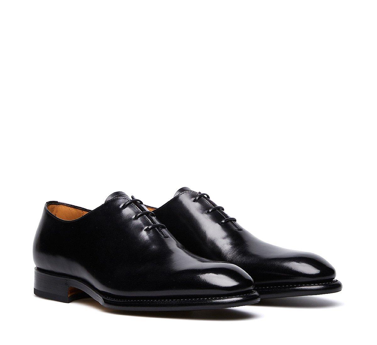 Туфли на шнуровке с тремя отверстиями из мягкой телячьей кожи конструкции Flex Goodyear