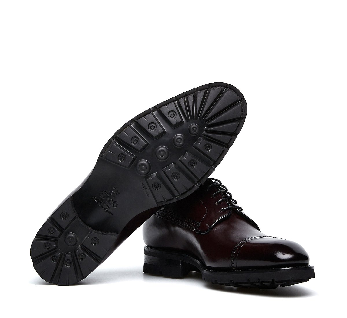 Flex Goodyear lace-ups in exquisite calfskin