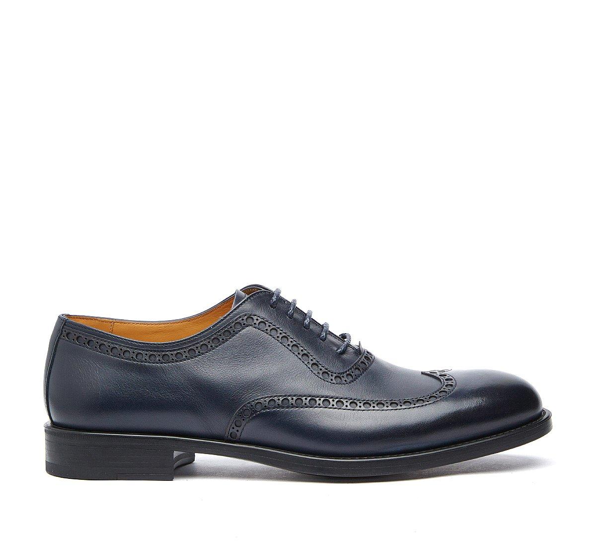 Классические мужские туфли из телячьей кожи