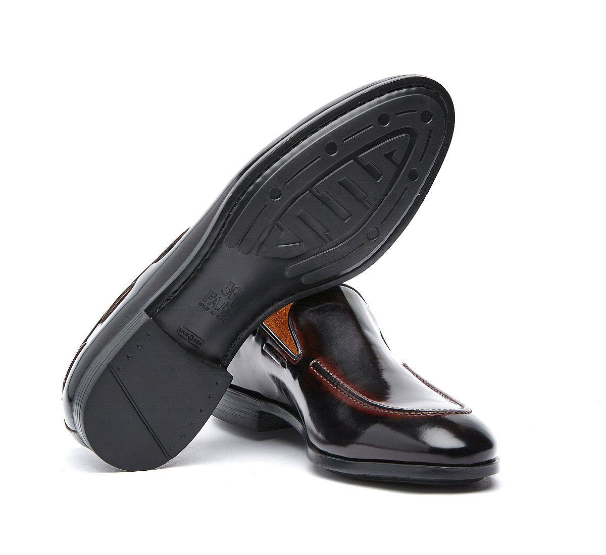 Loafer in calf leather