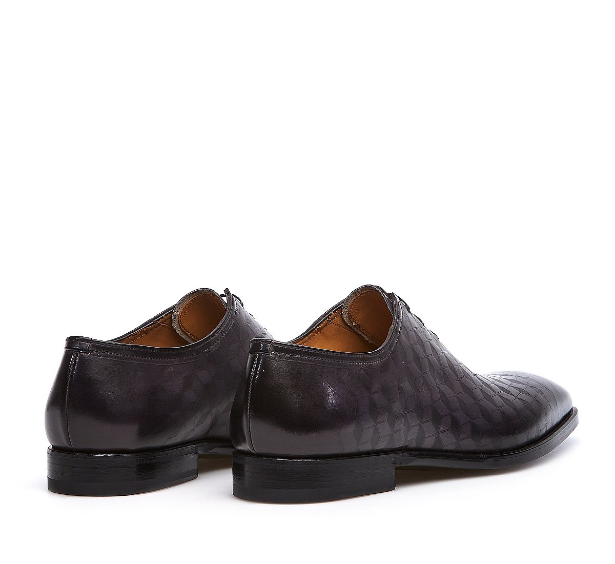 Lace-ups Fabi Flex in luxury calf leather with Prince of Wales print