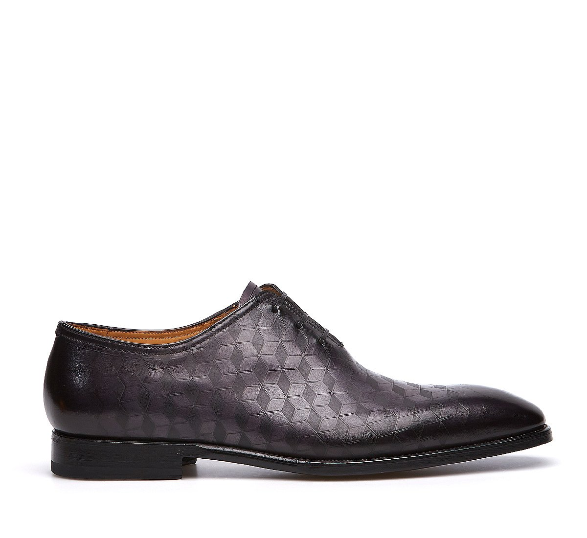Fabi Flex lace-ups in exquisite, printed calfskin