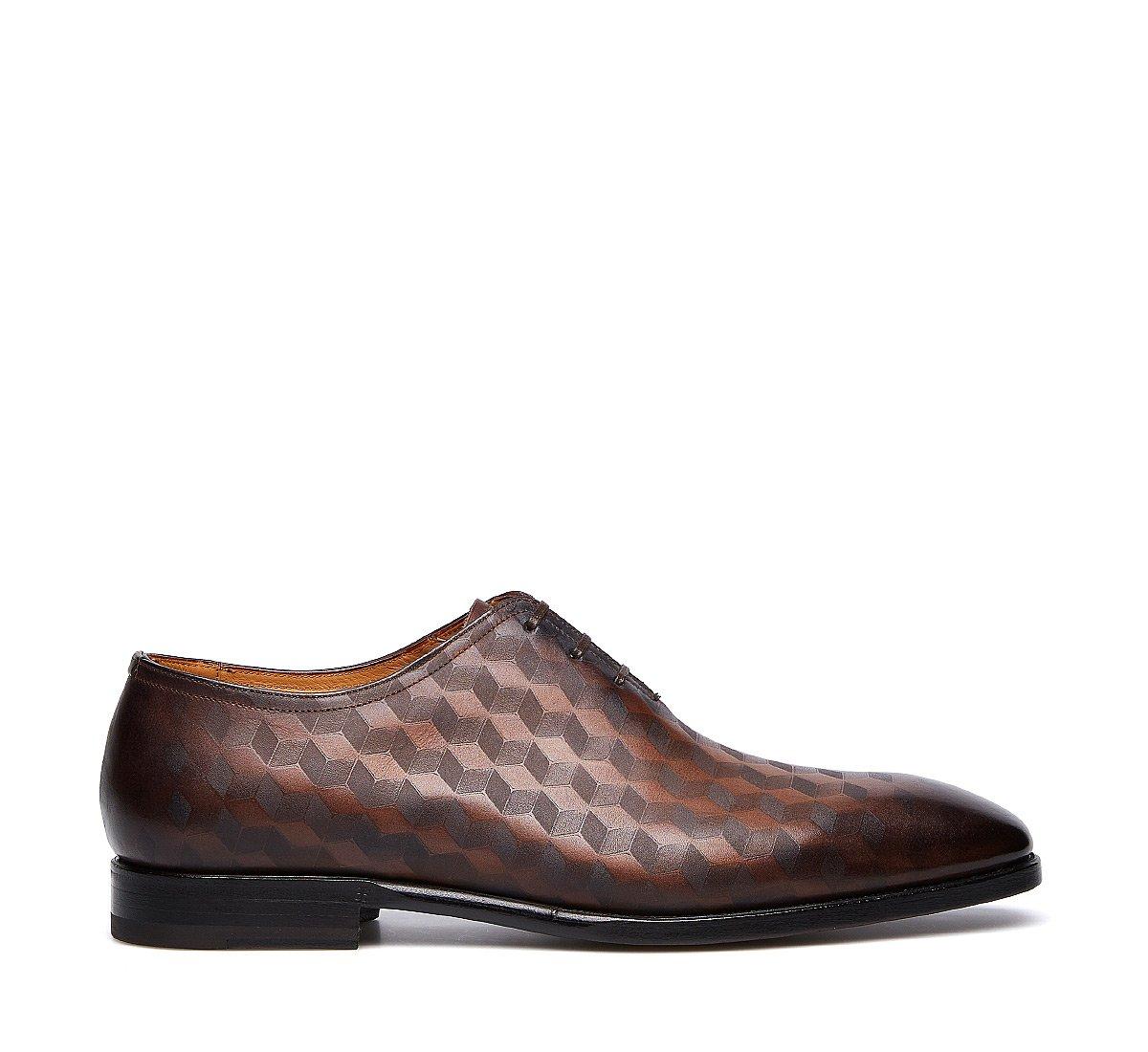 Туфли-оксфорды из ценной телячьей кожи