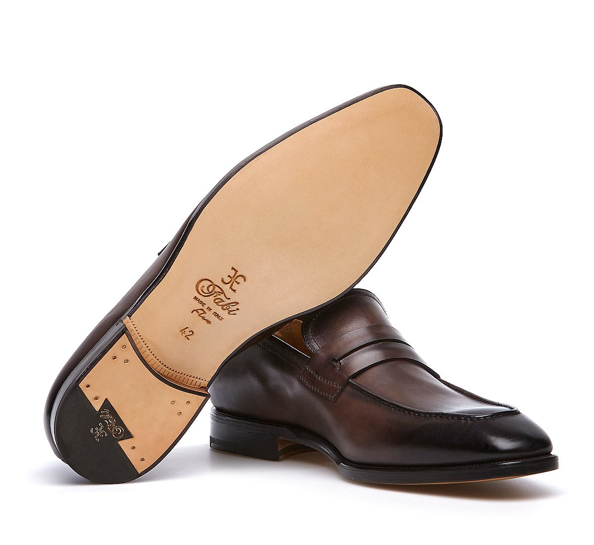 Loafer Fabi Flex in soft hand-buffed calf leather