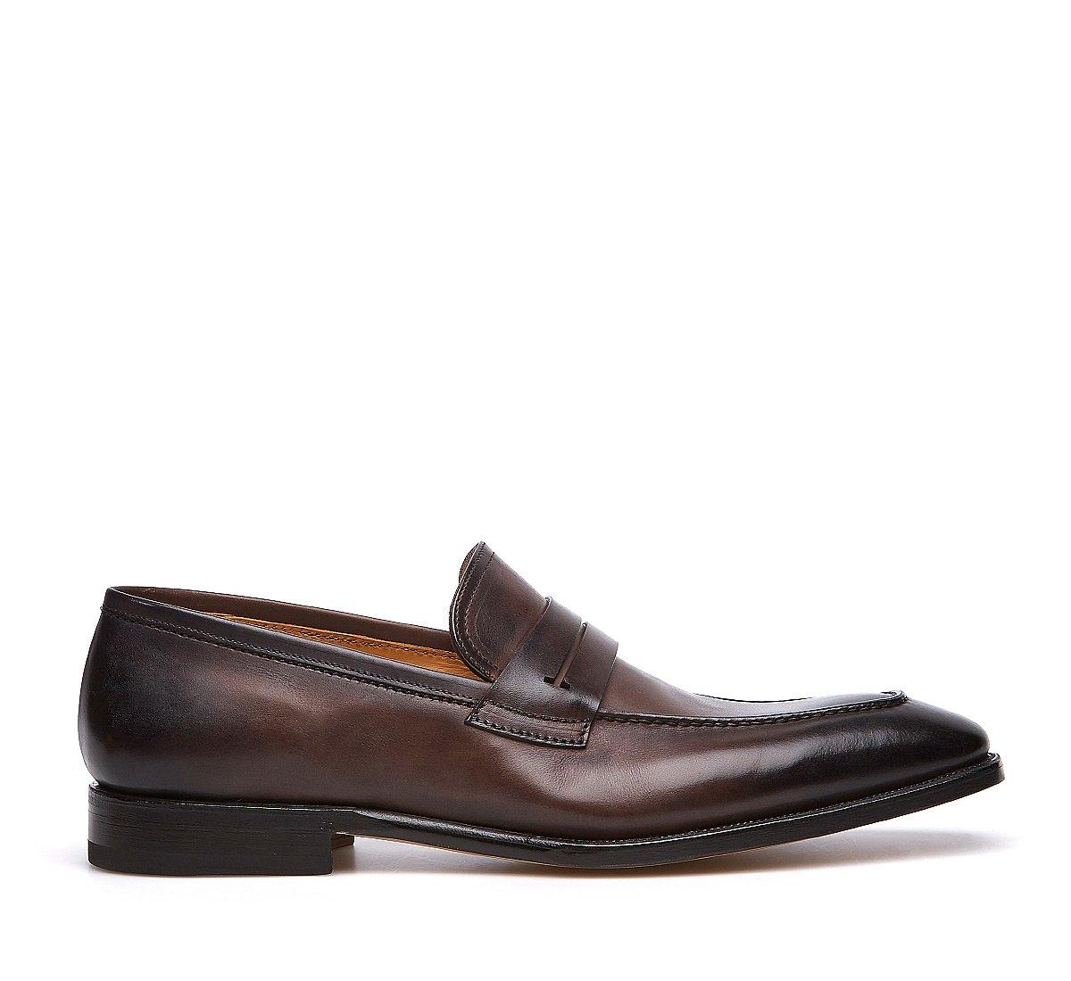 Loafer Fabi Flex in soft hand-buffed calf leather