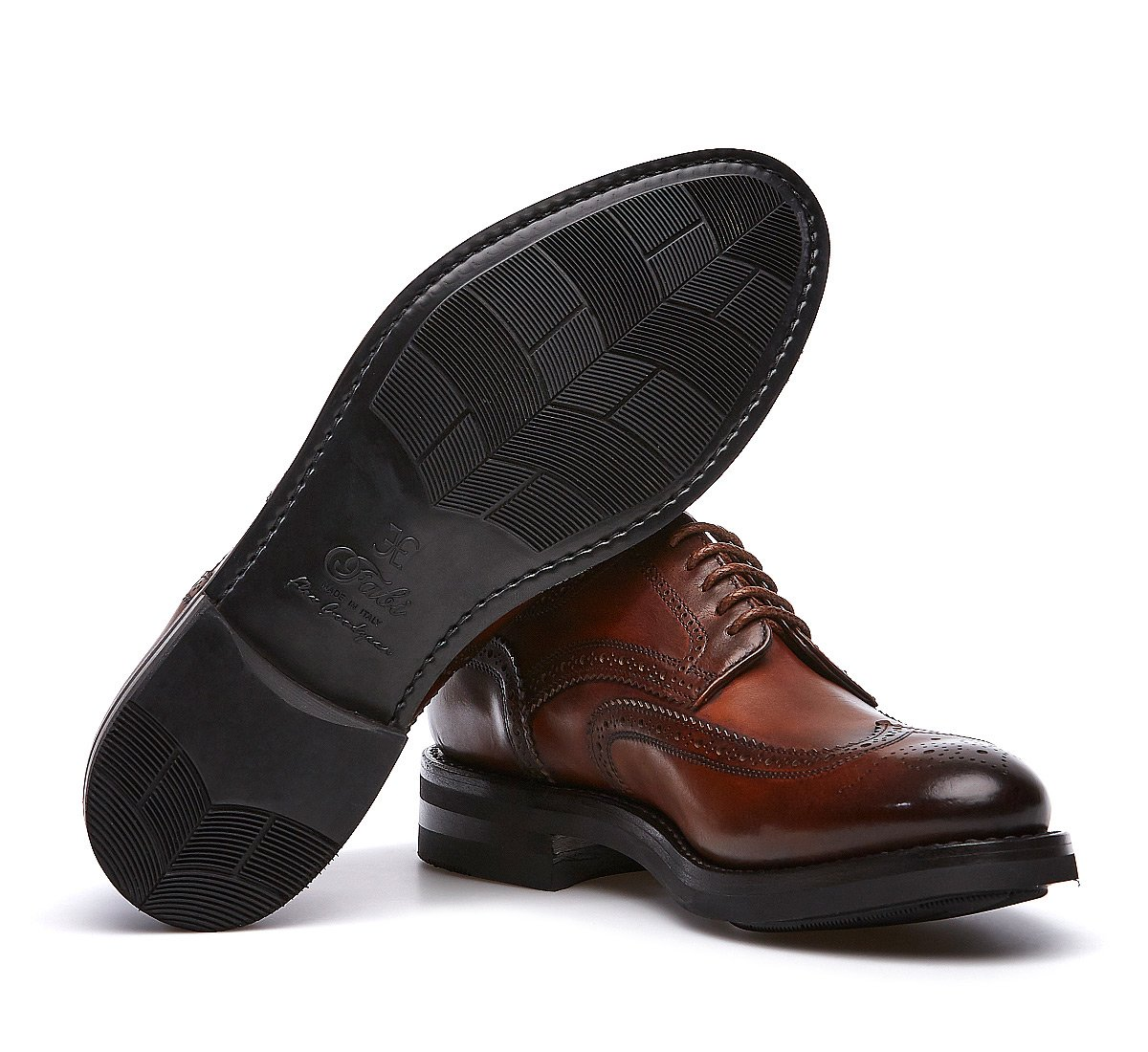 Oxford shoe in calf leather with Flex Goodyear construction