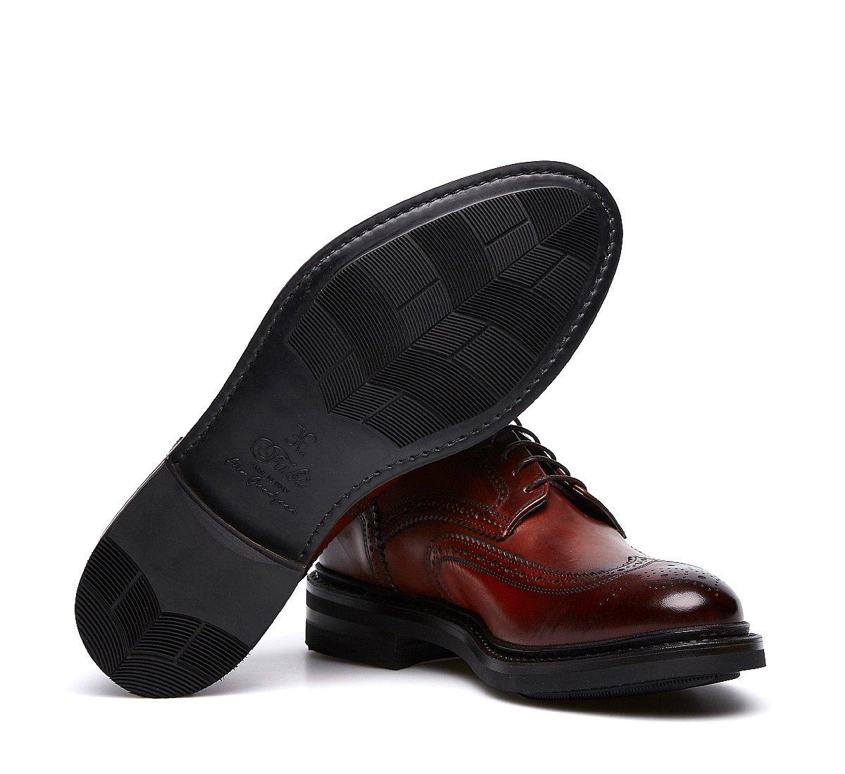 Туфли-оксфорды Fabi из ценной телячьей кожи конструкции Flex Goodyear
