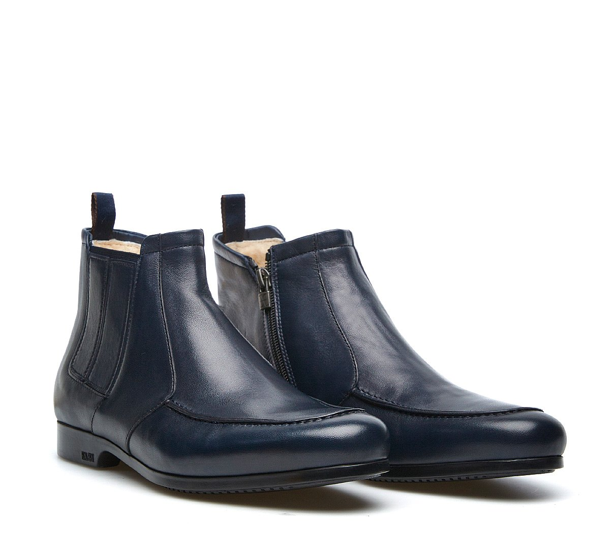 Beatle boots in soft nappa leather