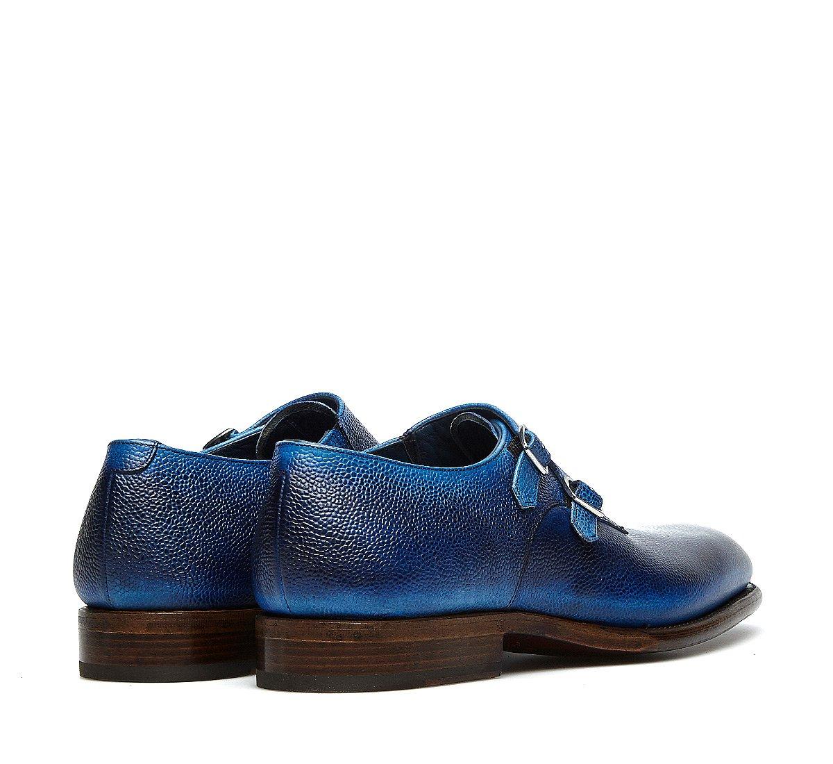 Fabi Flex Goodyear double monk strap shoes