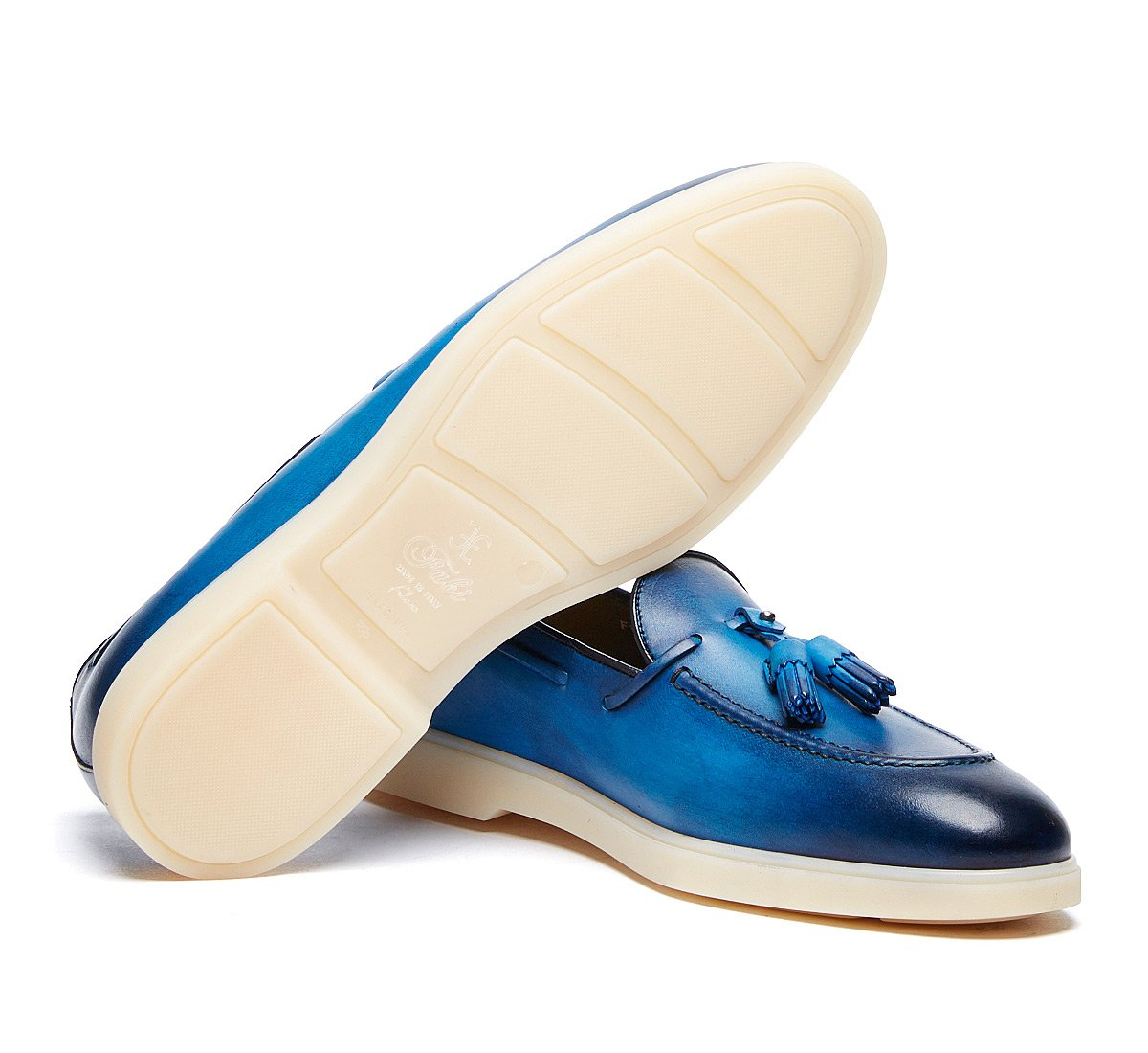 Fabi Flex moccasins in exquisite calfskin