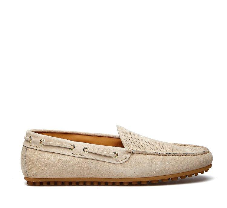 Soft calfskin moccasins