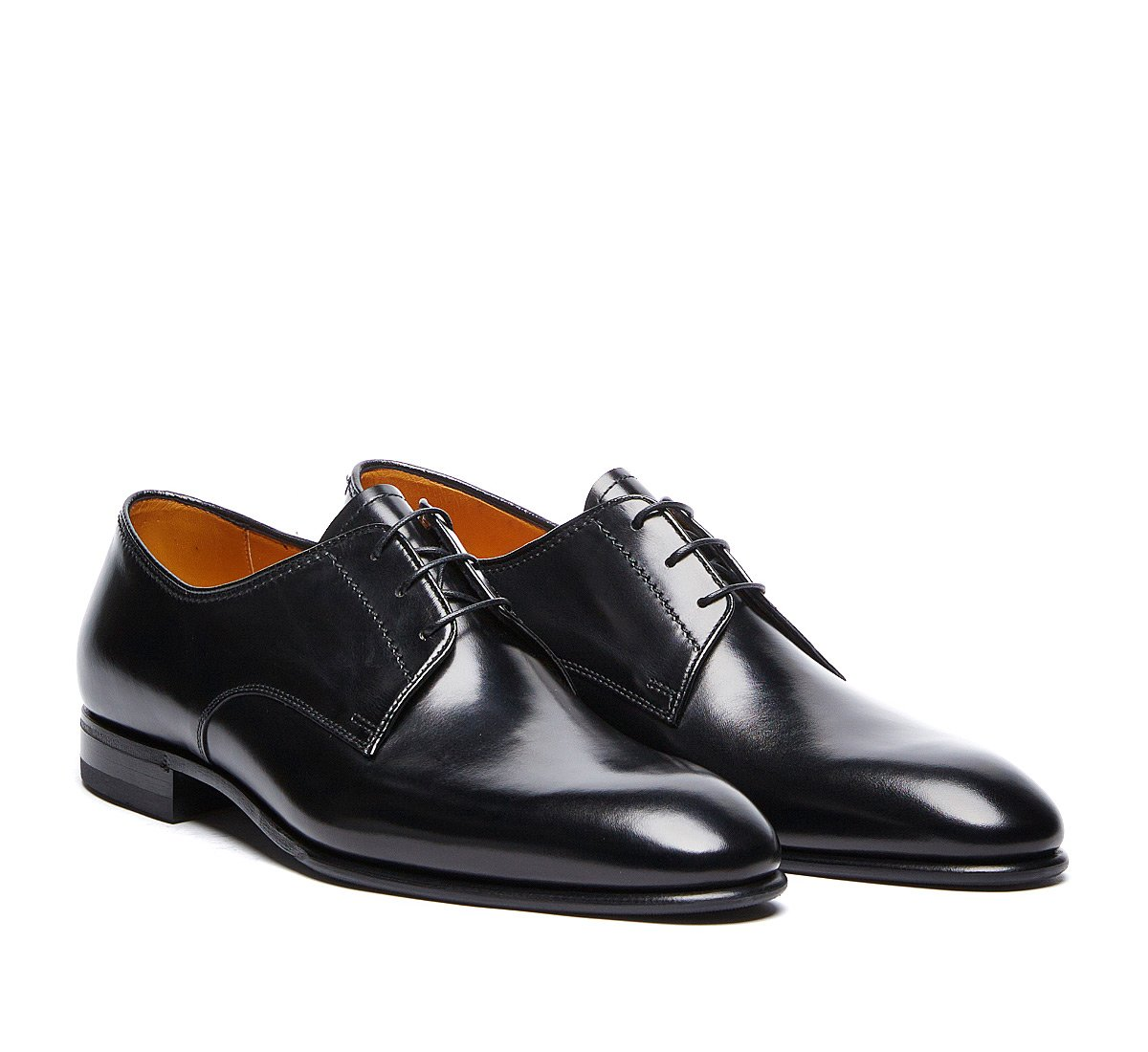 Soft calfskin derbies
