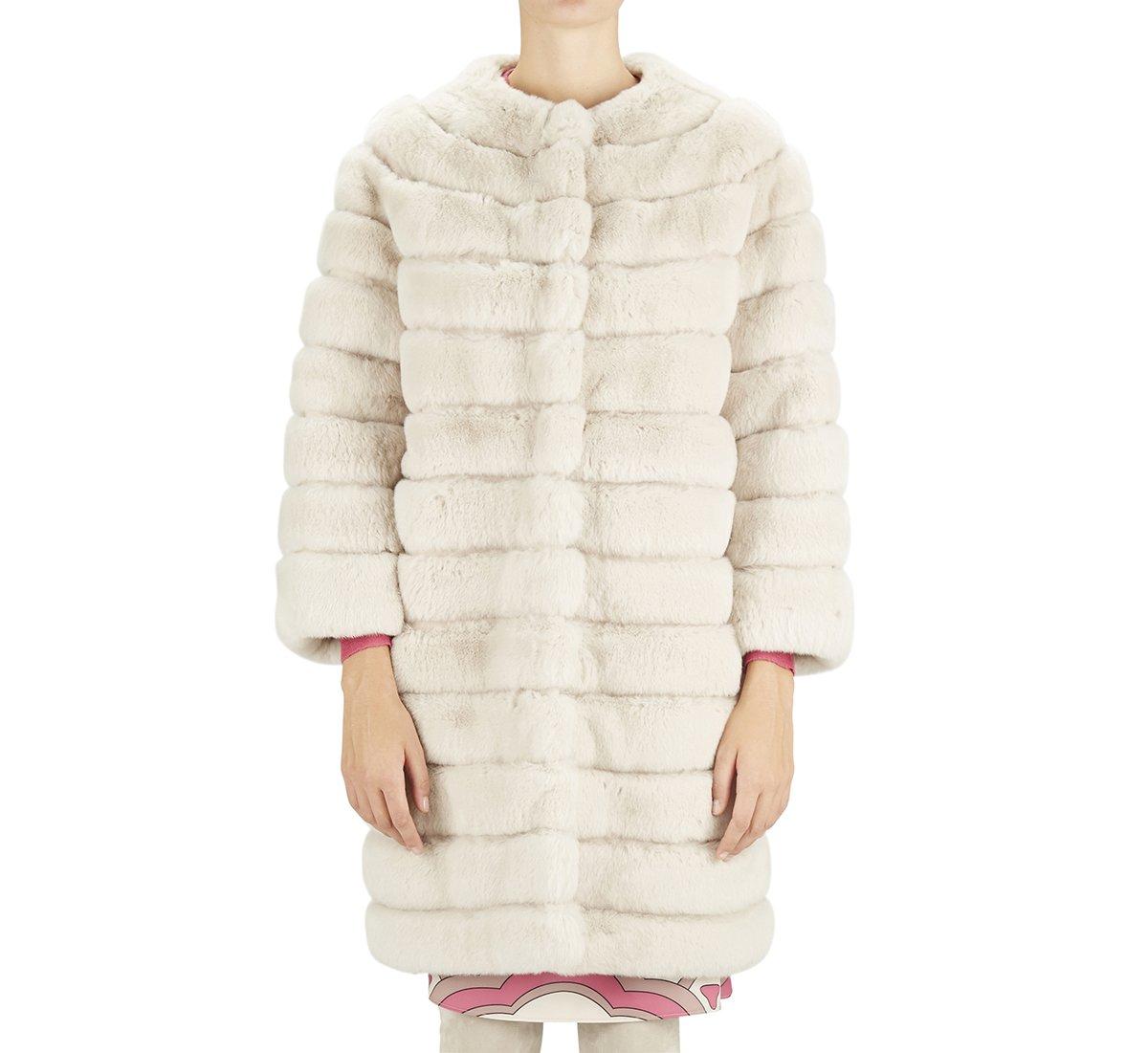 Cappotto in vera pelliccia