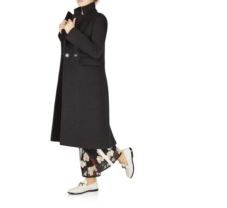 Cappotto in pregiata lana