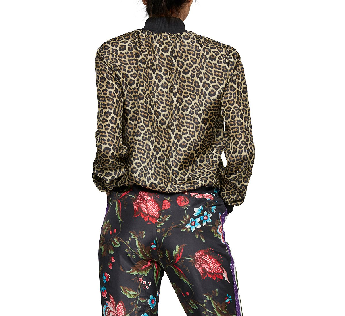 Bomber a stampa animalier