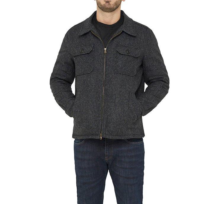 Пиджак с застежкой-молнией