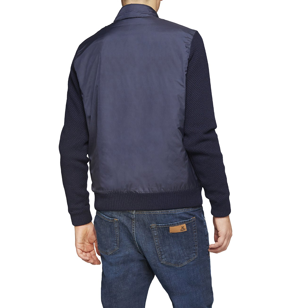 Bomber in waterproof technical fabric