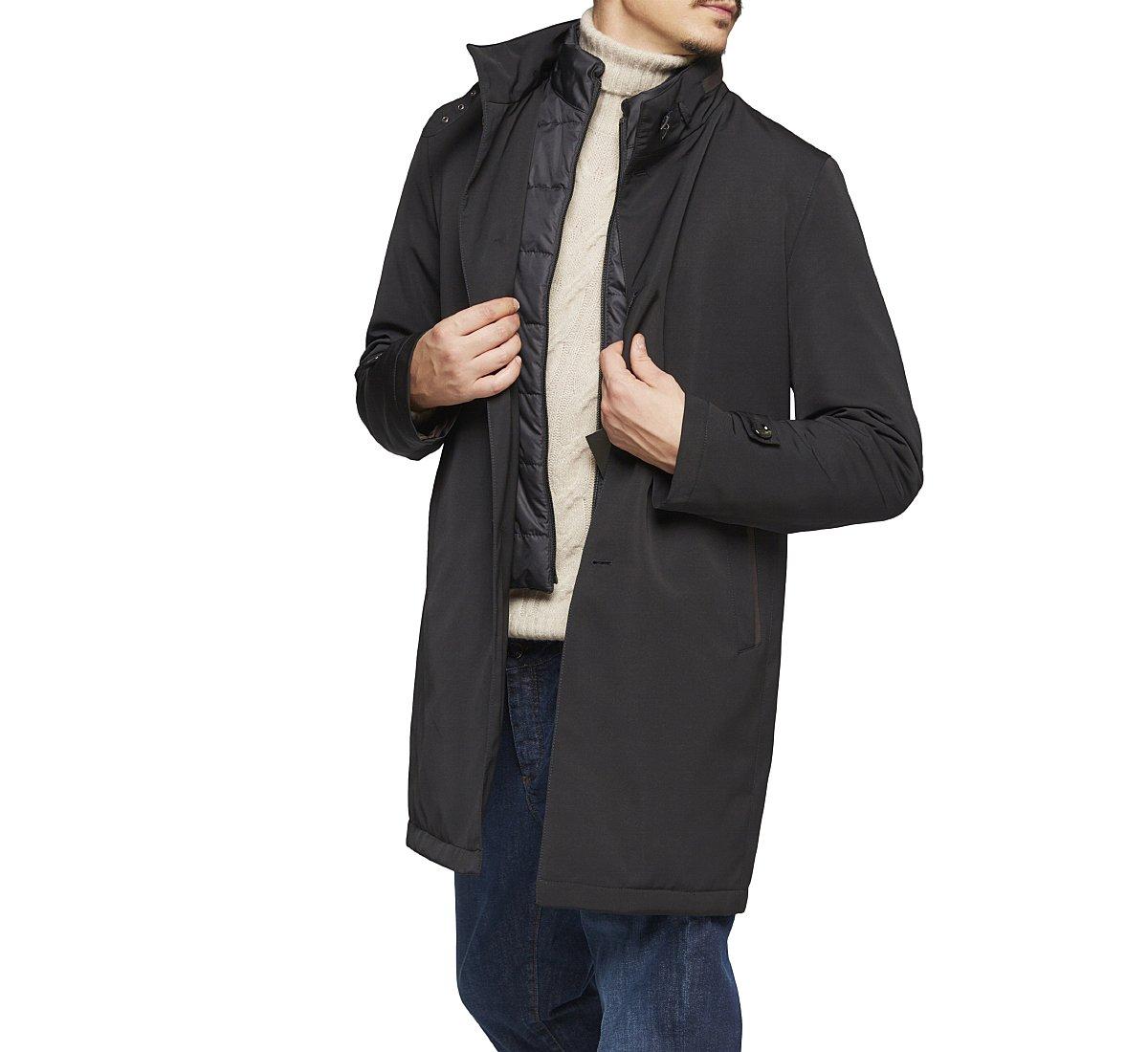 Waterproof fabric coat