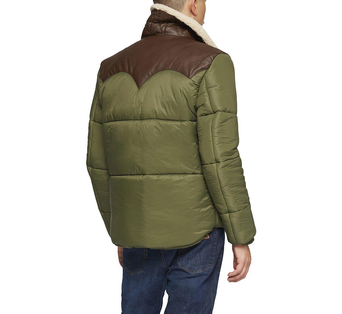 Padded fabric vest