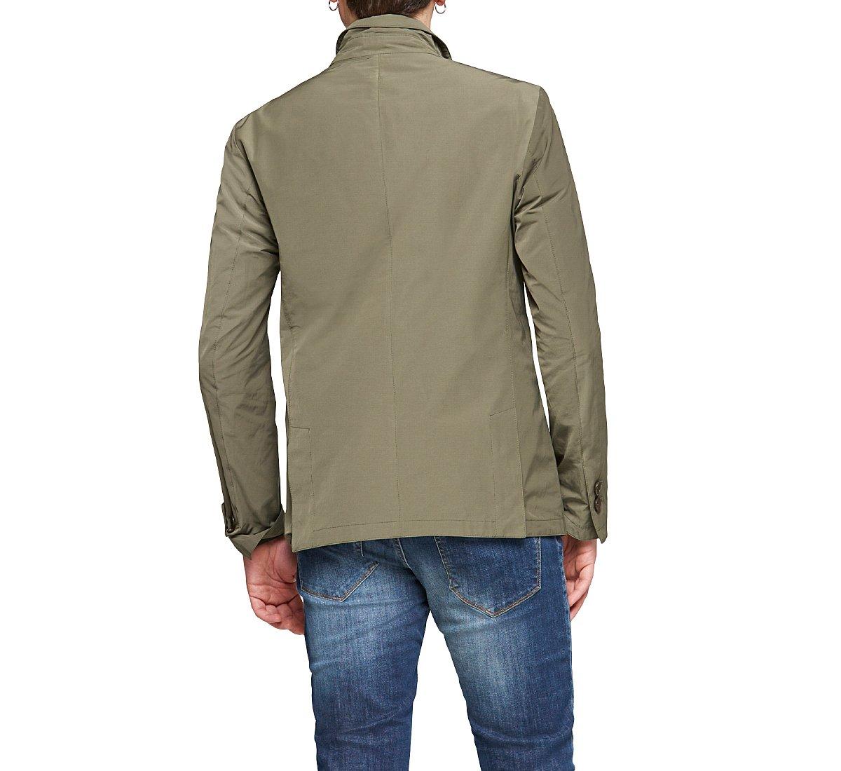 Blazer colletto revers in cotone